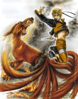 nine tails by Nivalis70