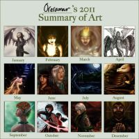 2011 Art Lineup by Oreramar