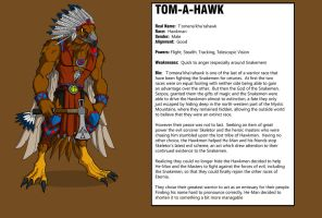 Tom-A-Hawk by shubcthulhu