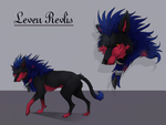 Leven Ref Sheet by WolfWarrior77