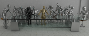 The Last Supper (Panorama 2560x1050) by Dracu-Teufel666