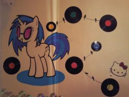 Music wall by MizukiManson483