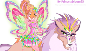 The Winx Club Flora Tynix Power - PNG! by PrincessBloom93