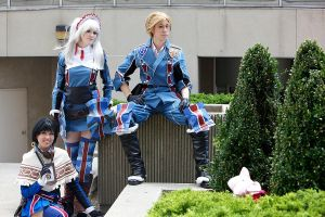Otakon: Gallian Militia by burloire