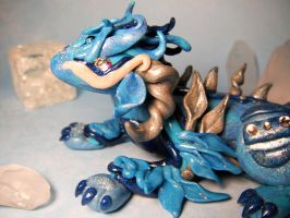 Ice Dragon Sculpt by MaryBunnie