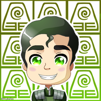 Legend of Korra: Chibi Bolin by AlphaSas