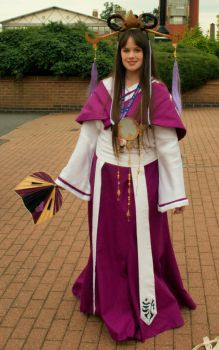 Tomoyo hime at Amecon 08 by DarkerLink