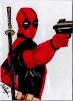 Deadpool by Anthony-Callaghan