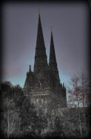 Lichfield Cathedral 2 by Kem2000