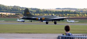 SALLY B TAKE OFF by Sceptre63