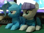 papercraft MaudPie and Trixie by robicraft