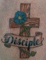 Disciple tattooed by circathomas05