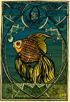 Gold Fish by CWIPenner