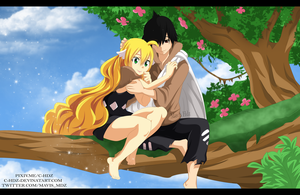 Mavis and Zeref - Stone Age by C-Hdz
