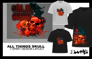 All things Skull -  Layout by aMorle