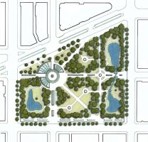DC Green Initiative - Full Exhibit Site Plan by Nayias01