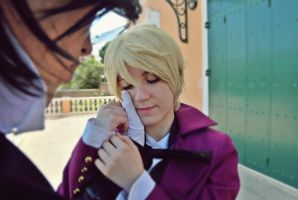 Be my Valentine, danna-sama - Claude and Alois by XiXiXion