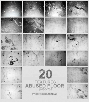 Textures - Abused Floor by onecoldcanadian
