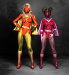 Electra Woman and Dyna Girl Baned.2 by Aszmo