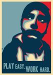 Your own Obama style poster. by bornforeducation