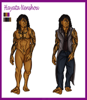 Commission: Hayata ref by snakes-on-a-plane