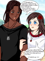 The Date Dax and Rose by PiccoloFreakNamick