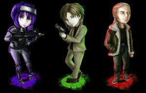 GITS - chibi by Soul--Dragon