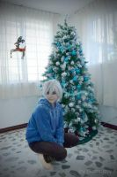RotG_I'm a little present_ jack Frost by SaiZarDrancher