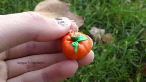Pumpkin Charm by BeppasCreations