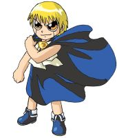 Zatch Bell poster colored by lunarsofi