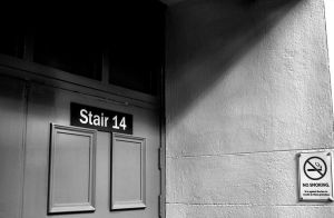 Stair 14 No Smoking by daliscar