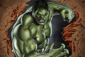 The Hulk by Tomtaj1