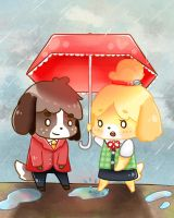 Digby's umbrella by krypnotik
