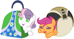 We'll Get Our Cutie Marks In Bowling Ball Bags! by Beavernator