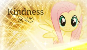 Fluttershy! [Kindness] *Wallpaper* by RubytheCat12