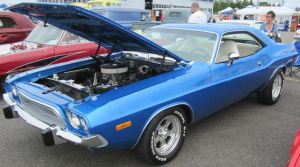 73 Dodge Challenger by zypherion