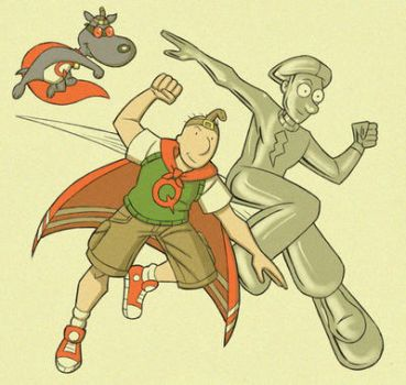 Quail-Man and Silver Skeeter by adventuresoftoad