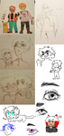 a sketchdump by iamtherainbow