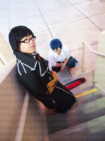 cos wip: Rin and Yukio [2] by SPISIS