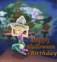 2007-Halloween Birthday Namine by Hentai-Sweetie