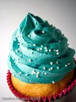 Sprinkles in Blue frosting 02 by CreativeAbubot