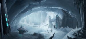Ice Cave Scout by Alanise