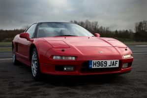 Honda NSX, Red by FurLined