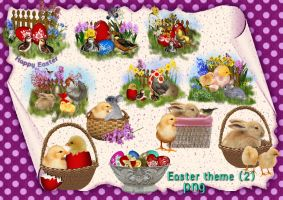 Easter theme 2 by roula33