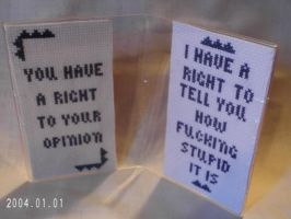 Funny Framed Cross Stitch (Mature) by agorby00