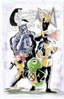 Doop and the X-Men by shawndaley