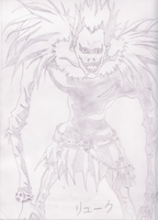 Shinigami Ryuk by Mad-Midna