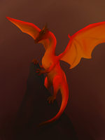Dragon (Spooktober #25) by RichDoes