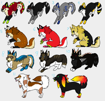 Canine Adoptables - UPDATED by Sapphira-Page