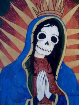 Muerto Mary by hotbettie